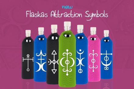 Flaska Attraction symbols