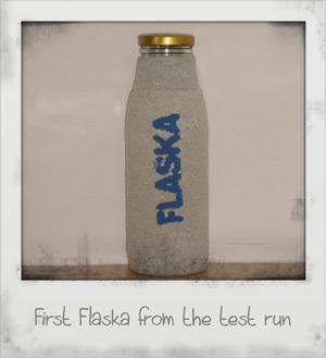 First Flaska from the test run